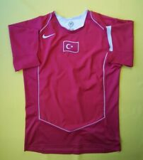 5/5 Turkey soccer jersey medium 2004 2006 home shirt football Nike ig93