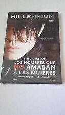 """DVD """"MILLENNIUM LOS HOMBRES QUE NO AMABAN A LAS MUJERES"""" PRECINTADA NOOMI RAPACE"""