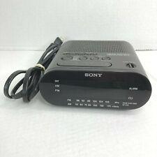 Sony Dream Machine Auto Time Set Icf-C218 Am Fm Alarm Clock Radio Tested