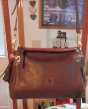 Dooney & Bourke Florentine Leather Medium Zip CrossBody Satchel