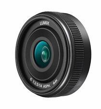 Panasonic 14mm f2.5 Lumix G Lens Black - Micro Four Thirds Fit