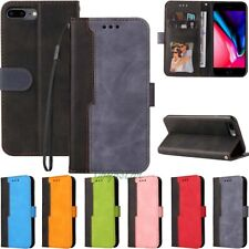For iPhone 12 11 Pro Max XR SE 6s 7 8 Plus Wallet Flip Leather Case Stand Cover