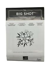 Stampin Up Lovely Floral Sizzix Embossing Folder
