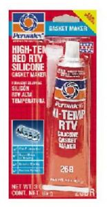 ITW, Permatex, 3OZ High Tem Red Silicone, Gasket Maker