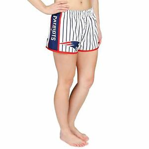 Forever Collectibles NFL Women's New England Patriots Pinstripe Shorts