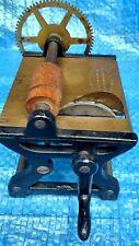 MINIATURE FABRIC FRINGER MACHINE W. V. PHILLIPS & CO Patent 1876 - SALESMAN SIZE