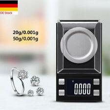 Homgeek 50g//0.001g Feinwaage Goldwaage Digital-waage Taschenwaage Juwelierwaage