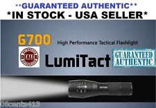 Guaranteed Authentic G700 High Tactical Flashlight -700 Lumens x2000 Lumitact
