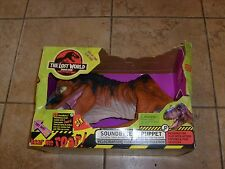 RARE Jurassic Park Raptor Electronic Puppet JP Figure Lost World With Box