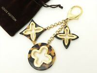Louis Vuitton Authentic Metal Plastic bijoux sac insolence Key Chain Bag Charm
