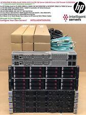 HP MSA2040 DL360p Gen8 10Gbit iSCSI 14.4TB 15K SAN 64-Core 512GB Server SAN