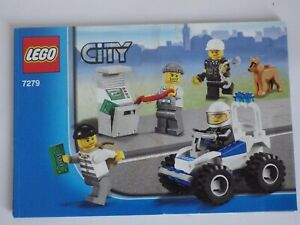 Instructions LEGO City 2011 Manuals Instruction Mounting N°