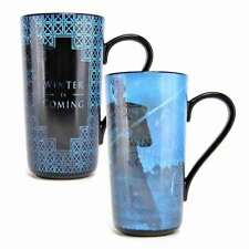 NEW GAME OF THRONES WINTER IS COMING HEAT CHANGING MAGIC LATTE COFFEE MUG CUP