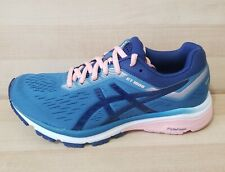 Womens ASICS GT-1000 7 Running Shoes Size 6 Athletic Snealers Blue