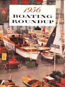 1956 Boating Round Up Article & prints Scot Atwater Mercury More Cool Cabin Art