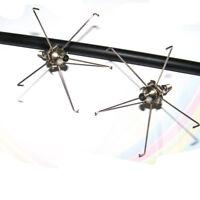 12pcs Archery Arrow Heads Broadheads with 5 Big Paws Stainless Arrow Points Tips