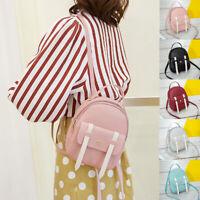 Women Mini Bags Backpack Girl School Shoulder Bag Rucksack Leather Travel Bags