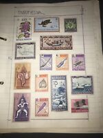 16 Indonesia Stamps - To 1979 - History