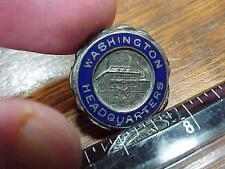 General George Washington Vintage Headquarters Souvenir Pin (16E1)