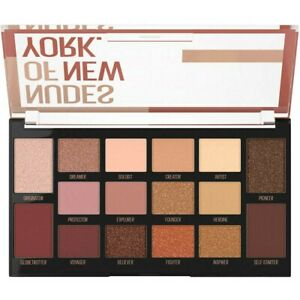 MAYBELLINE New York NUDES of NEW YORK 12g EyeShadow PALETTE 16 Gorgeous SHADES