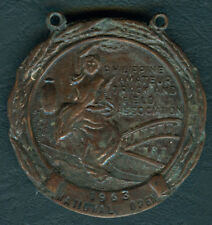 1963 Philippine Amateur Track & Field Assn. Nat'l Intercollegiate Medal - Bronze