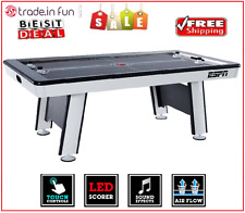 "Air Hockey Table Full Size 84"" Family Friends Game Kids Adult Patio Play By ESPN"