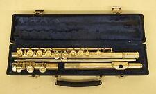 Gemeinhardt Artley Symphony Flute Elkhart Indiana w/Hard Case GREAT