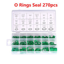 HNBR 270pcs Car SUV A/C System Air Conditioning O Ring Seals Ring Assortment Kit