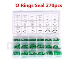 HNBR 270pcs Car SUV A/C System Air Conditioning O Ring Seals Ring Assortment Kit