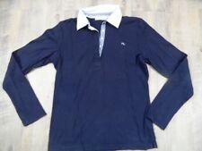 MARIE LUND Langarm-Poloshirt blau Gr. M TOP  e1017
