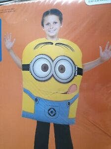 Dressing Up - Despicable Me Minion Dave Costume - Medium Age 5 - 7 Years