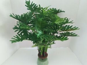 Artificial split leaf philodendron Plant W/O POT Silk Flowers