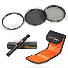 67mm UV CPL ND4 Neutral Density Filter Kit for Nikon D7000 D90 18-105 Lens