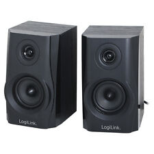 LogiLink SP0028 Boxen Lautsprecher 2.0 Speaker Multimedia PC Computer Laptop etc
