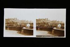 Carcassonne France Plaque de verre stéréo pos. vers 1920