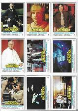 Battlestar Galactica Tv Series Complete 132 Bubblegum Card Set Topps - 1978