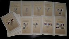 Germany Complete Yearset 1989 First Day Cards, all 33 Sheets from this year