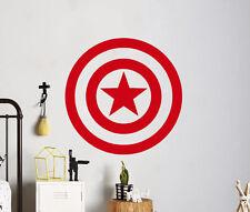 Captain America Wall Vinyl Decal Marvel Comics Sticker Home Art Decor 26(nse)