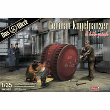 Das Werk 35015 German Kugelpanzer (2 Kits Pack) 1:35 Plastic Model Kit