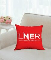 LNER INSPIRED CUSHION / PILLOW NEW HST INTERCITY 125 BRITISH RAIL AZUMA CLASS 91