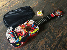 Beano Official Soprano Dennis The Menace Ukulele Outfit Brand New!