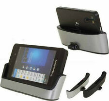 Dock Charger Mount Holder Battery Charger Cradle + USB Cable for Blackberry Z10