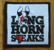 Longhorn Steakhouse patch steaks cloth old style Bongo