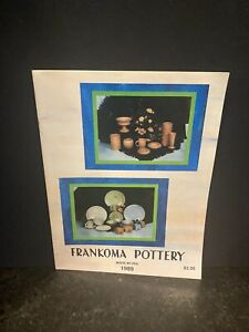 FRANKOMA Art Pottery Vintage 1989 Dealer Sales Catalog Ordering Buyer Magazine