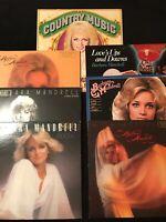 Barbara Mandrell Vinyl LP Promo Lot Of 6 Plus Bonus Album
