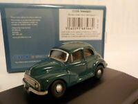 Model Car, Morris Minor, Green, 1/76 New