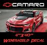 CAMARO z28 Chevrolet, Windshield Sticker Logo Vinyl Decal American Muscle Banner