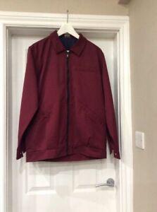 BNWT Alexandra W609 Men's Boiler Jacket In Red Size Medium