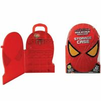 New Spiderman Web Attack Sticky Storage Case 12 Slingers & Whole 50 Battle Chips