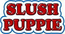 2x Slush Puppie / Puppy stickers decals for catering, ice cream van / trailer